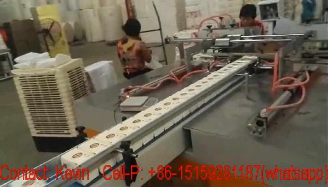 Tissue Paper Converting Machine — Semi Auto Packing One Piece — 330AB