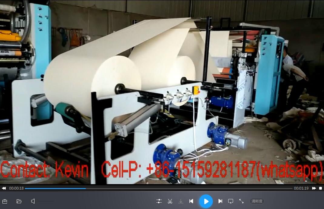 5-Line Tissue Folding Machine-Testing — MS180-5L