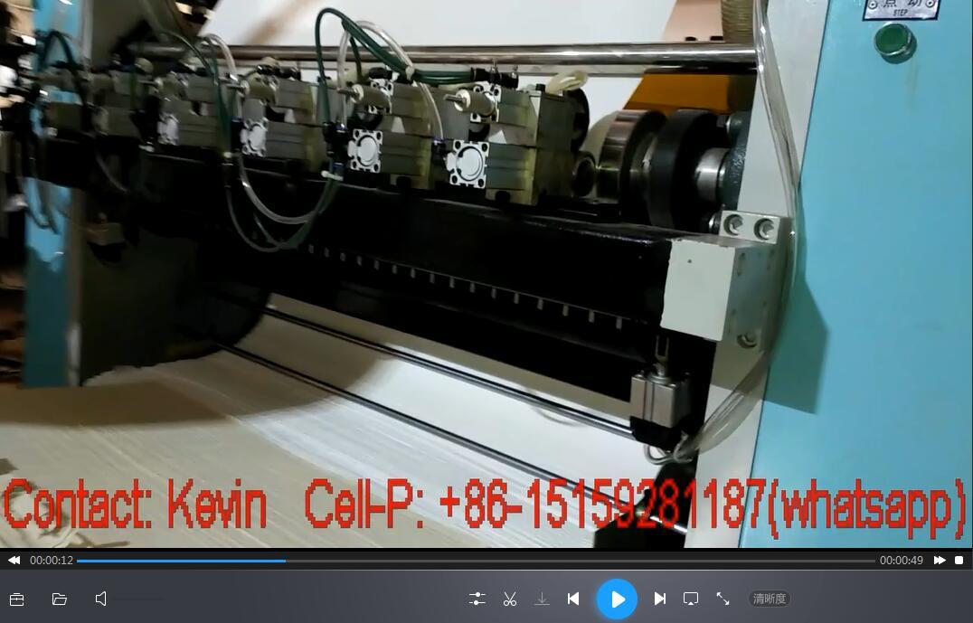 5-Line Tissue Folding Machine-Testing — MS180-10L