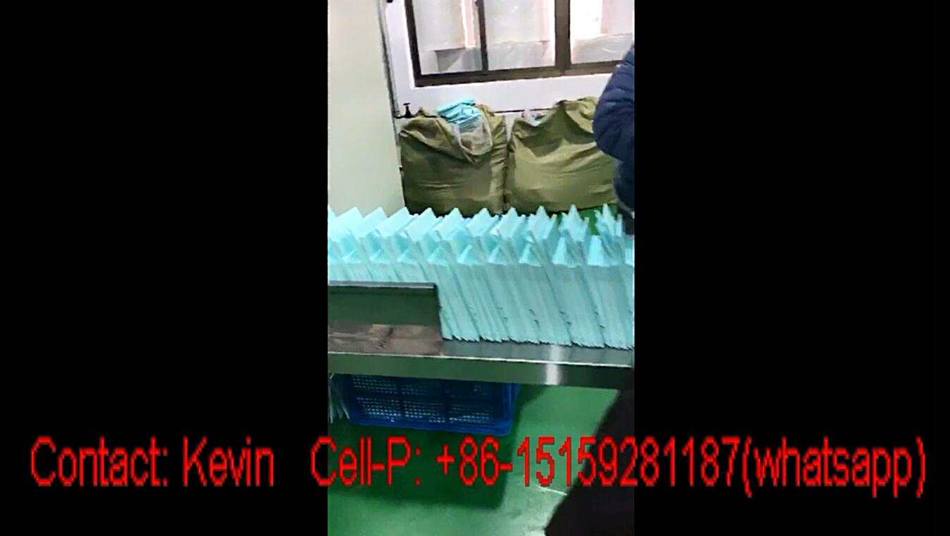 Automatic Sanitary Pad-Adult Bed Mats Packing Machine 40-45 PCS — MZ18-AT