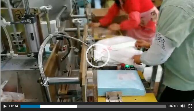 Adult Diaper Packing Machine-10PCS — MZ16