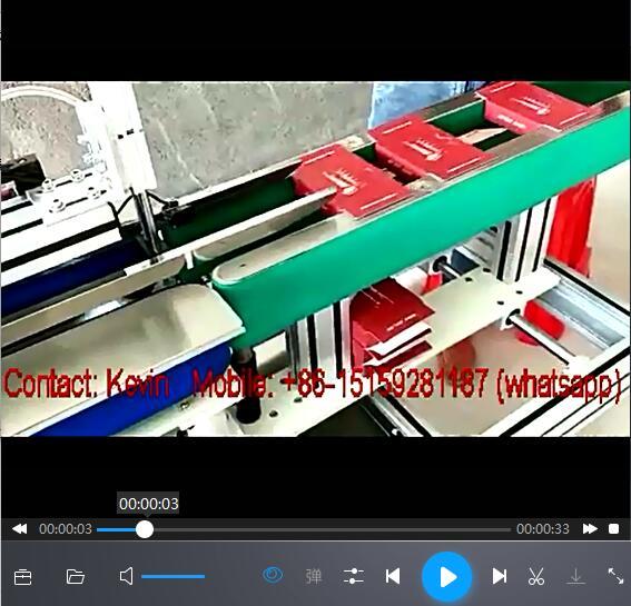 Box Tissue Paper Box Closing Packing Machine — MS-BC110