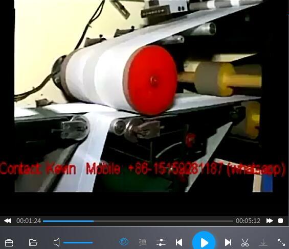 Baby Diaper Converting Making Machine — MS-MK-200