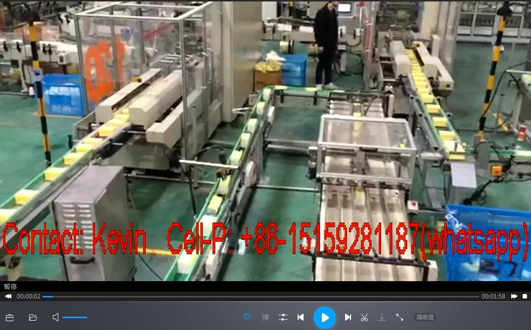 Facial Tissue Paper Converting Machine_Semi Auto Packing—330A