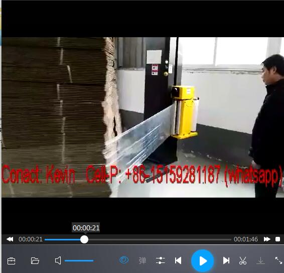 Stretch Pallet Wrapping Machine Film
