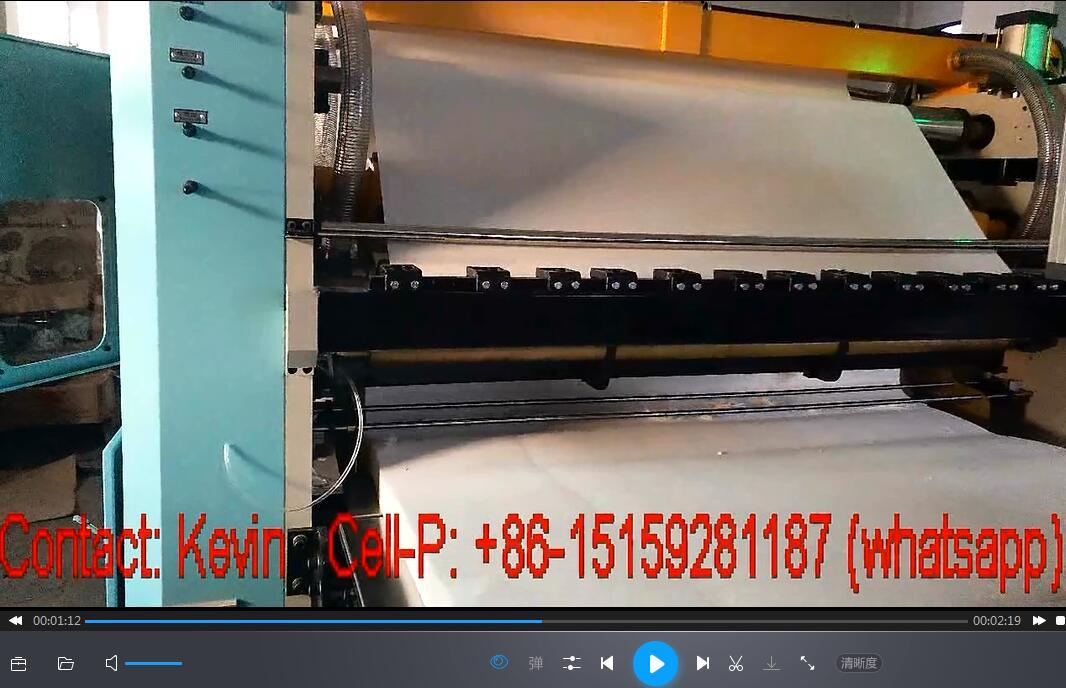 High Speed Tissue Folding Machine-Max 120M each minute — HST180-10L