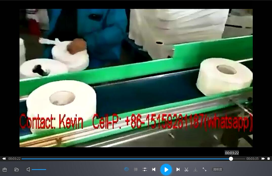 Large Toilet Jumbo Rolls Cutting Machine-Automated-Band Saw–Dia.200-400mm — MS-BS180