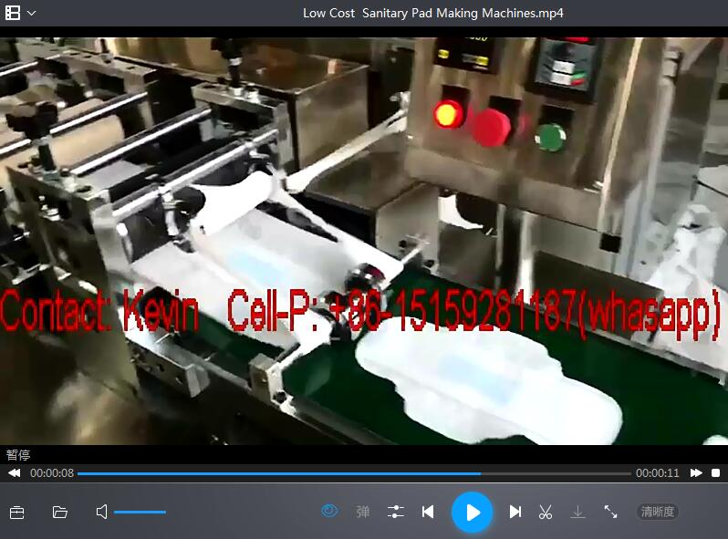 Low Cost Sanitary Pads Making Machine- 100 PCS Each Minute—SSM-180