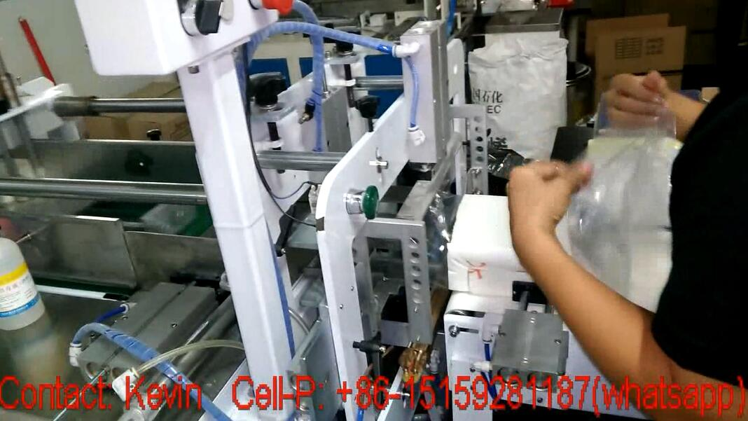 Napkin Tissue Paper Packing Machine — Single Head — 011A