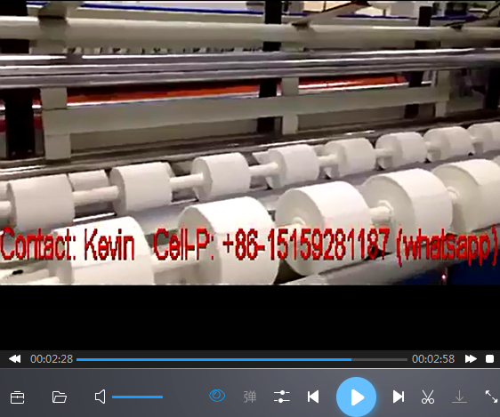 Non woven Machine — NW618