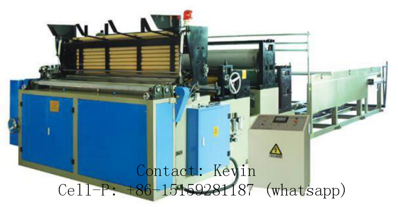 Paper Machinery — Toilet Auto Glued, Paper Winding Machine — MSR188: