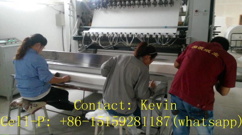 Facial Tissue Folding Cutting Packing Machine Line — MS-180-10L