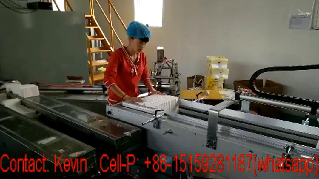 Sanitary Napkin Machine — Semi Auto — MZ16