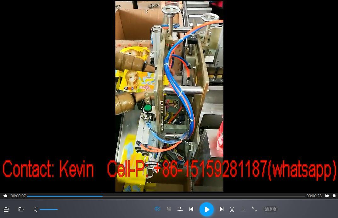 Sanitary Pad Packing Machine-5-10PCS—MS18