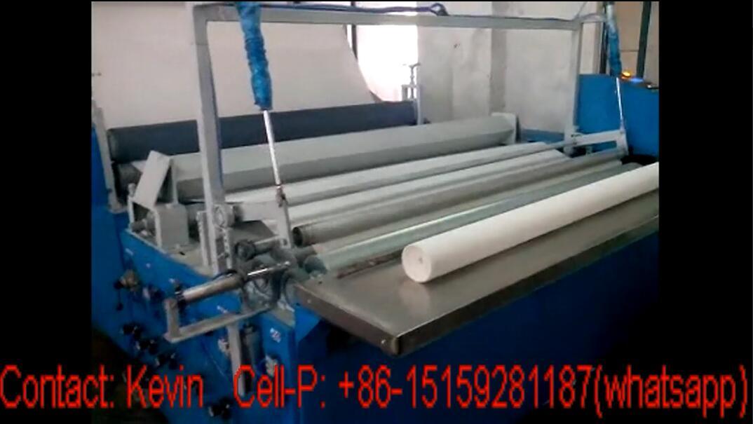 Toilet Paper Winding Machine — Simple Cheap Type — MSR188