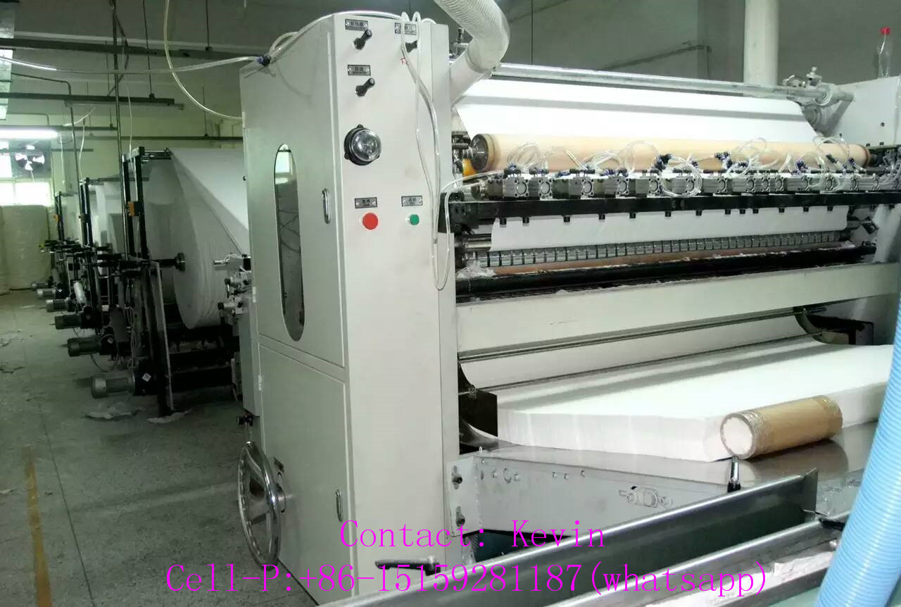 Tissue Facial Paper Converting Production Line — MS180-10L