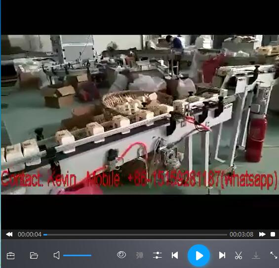 Tissue Paper Packing Making Machine — Semi Auto/Two Heads, Multi-pieces — 330AB
