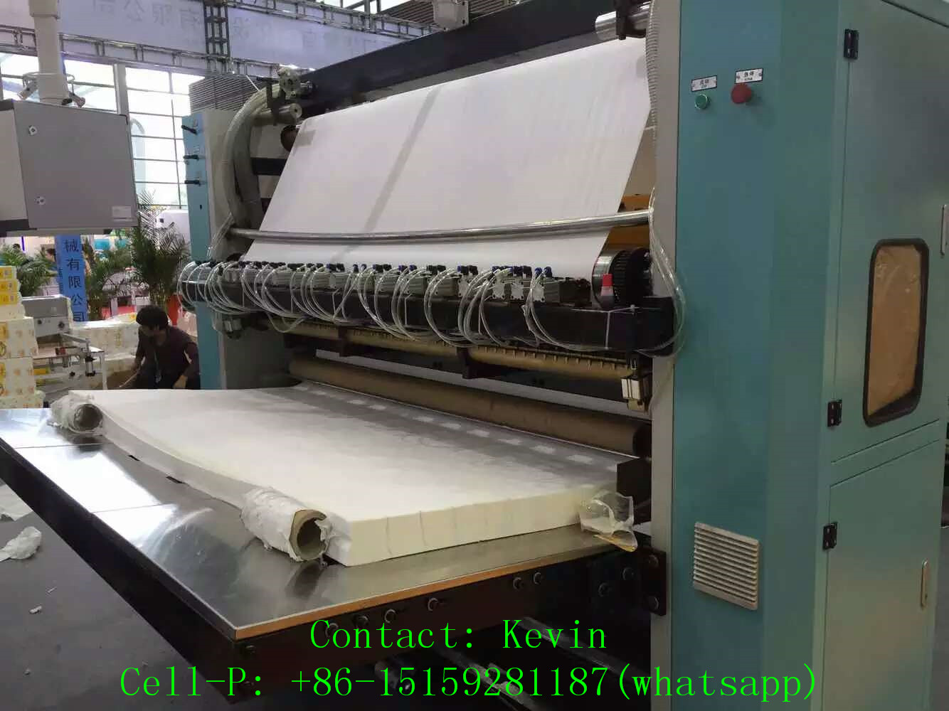 Tissue Paper Machinery High SpeedTissue Paper Machinery High Speed-800 Folds Each Minute — MS180-10L