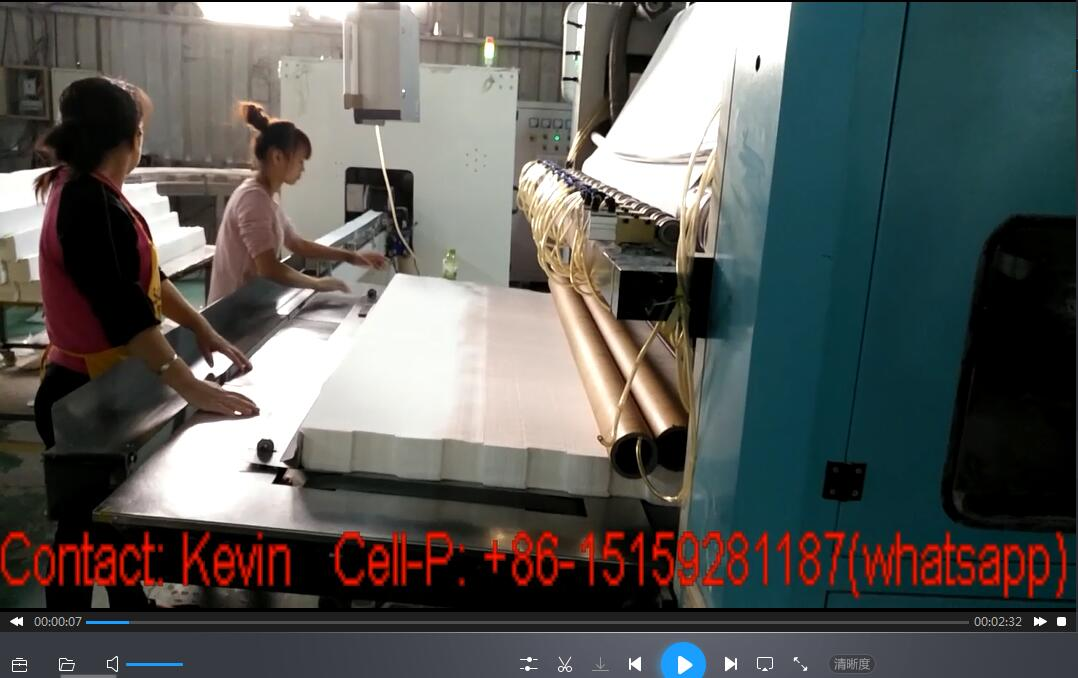 Facial Tissue Paper Folding Cutting Packing Making Converting Machine — MS180-10L-AB