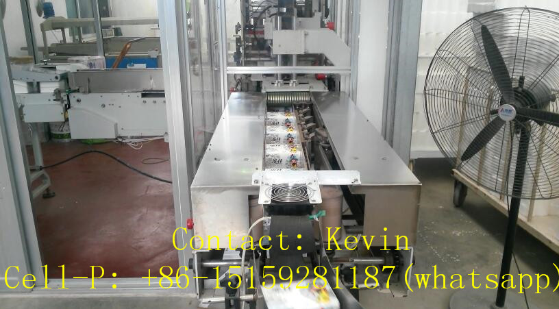 Tissue Paper Folding Cutting Packing Converting Machine — Fully Auto — MS180-10L