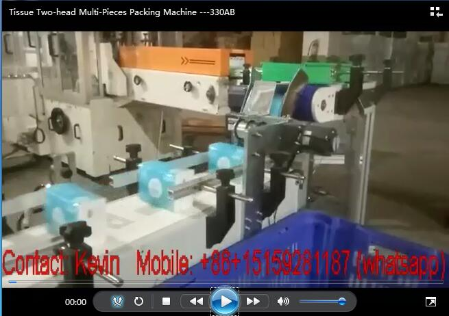 Tissue Paper Two-head Multi-Pieces Packing Machine —330AB