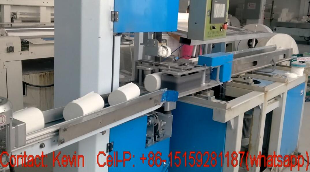 Toilet Paper Cutting Machine — Cutting, Fully Auto,Band Saw—200B: