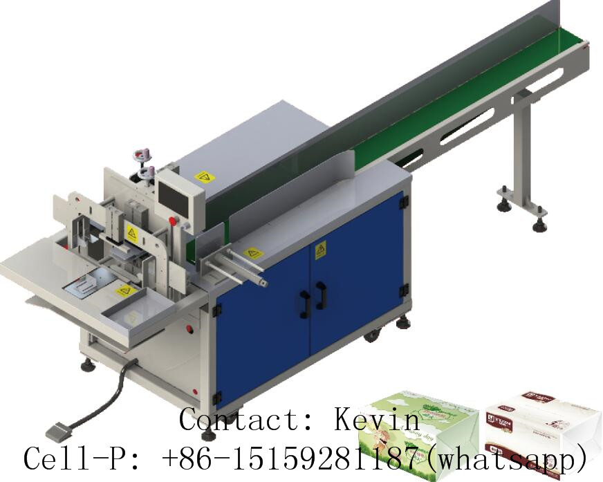 Tissue Paper Packing Machine — 1 PC Each Bag — 011A