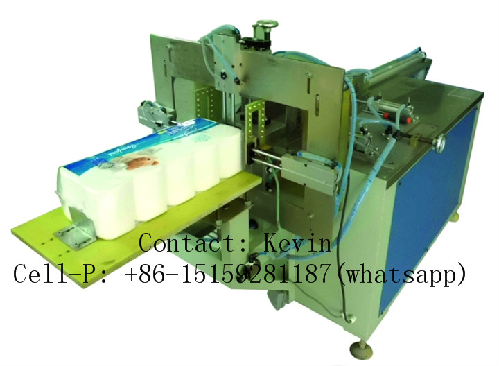 Toilet Paper Packing Converting Machine — Semi Auto, W/ Film — 426A