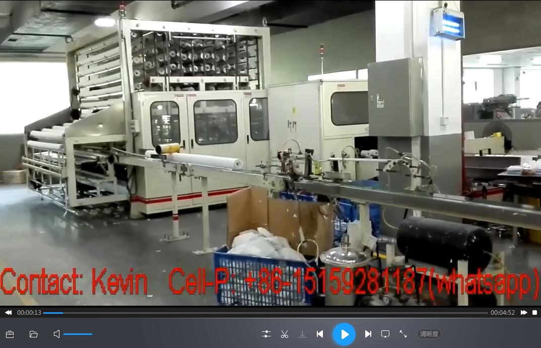 Toilet Paper Converting Machines Production Line — Non-stop— MSR188