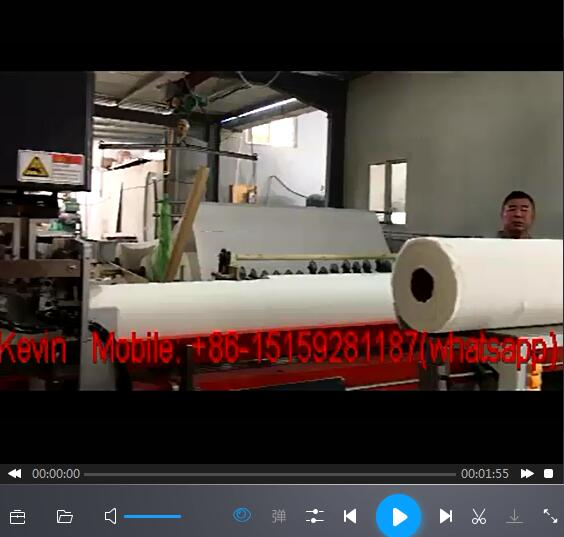 Large Jumbo Roll Toilet Roll Cutting Converting Machine-Automated-Band Saw–Dia150-250mm — MS-BS180