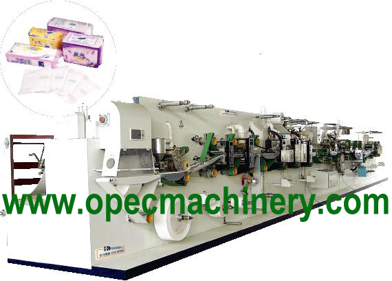 Woman's Sanitary Pad Machinery — MS318SPM