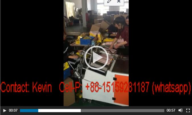 New Mum Sanitary Pad Packing and Sealing Machine-MS230A-10-30 Pieces — MSW18-B